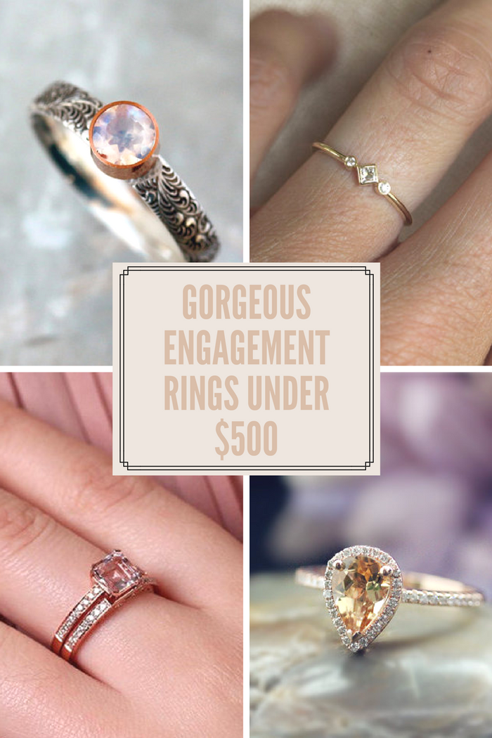 22 Gorgeous Engagement Rings That Won T Make You Go Broke