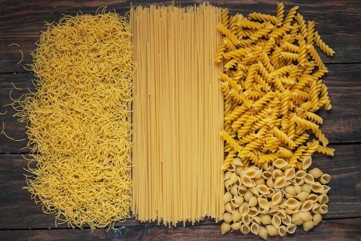 Los espagueti son tan populares que suponen dos tercios de toda la producción de pasta.