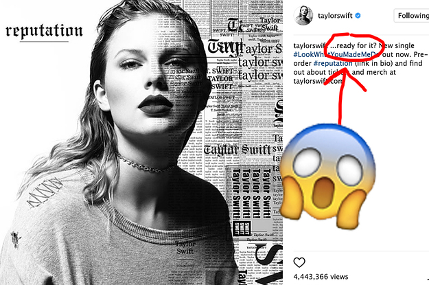 Turns Out The Title Of Taylor Swift's New Song Was On Her