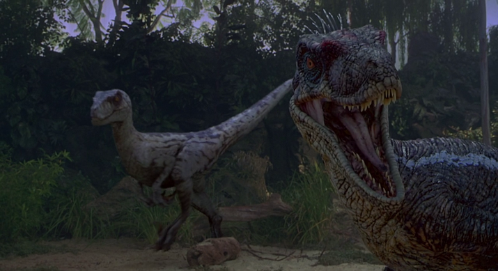 Other animal sounds used for the raptors included a horse's breathing and the hiss of an angry goose.