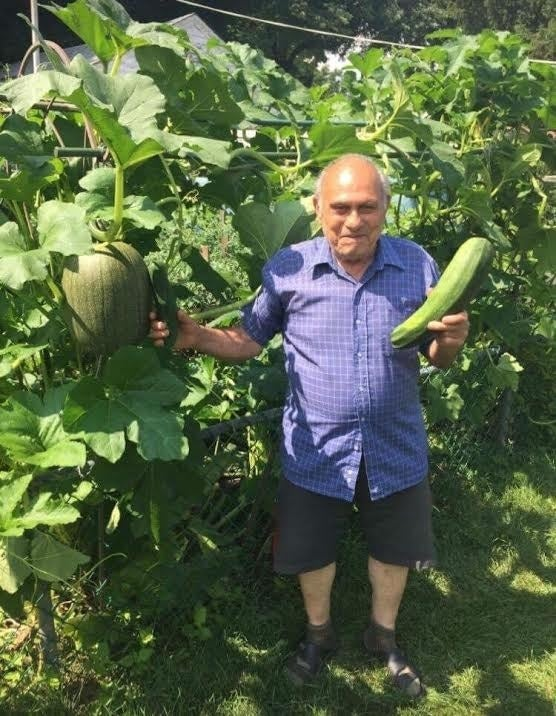"""In 2015, Adornetto first entered a local zucchini contest on a whim, and easily defeated his competition with a 9-pound zucchini from his garden. In 2016, he unfortunately missed the deadline and was """"very upset."""" In 2017, he effortlessly won the zucchini contest with a 6.57-pounder. That's when Adornetto's entire attitude changed, according to Lehman."""
