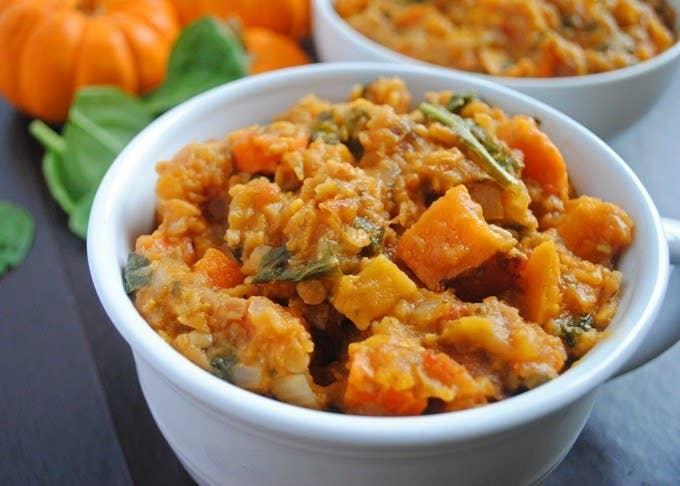Red Lentil, Sweet Potato,