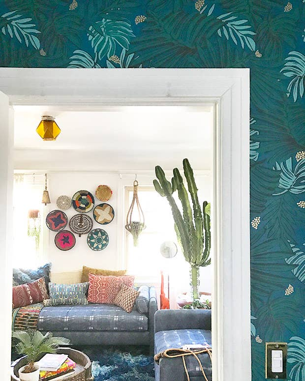 """When I'm decorating a room, it's so helpful for me to take a lot of pictures and then just sit with them for a little while,"" said The Jungalow founder Justina Blakeney. ""It makes it easier for me to see something that's jumping out as 'off' when I take a photo of it because it gives a different point of view.""Read more of Blakeney's awesome tips in If You're Obsessed With Plants And Color, You Need These Decor Tips."