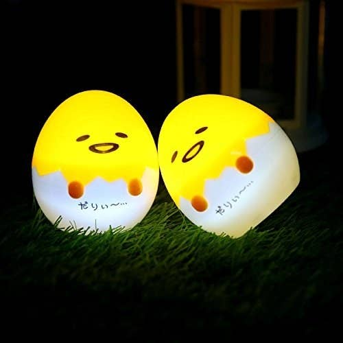"""Promising Review: """"I bought this mini egg lamp because sometimes my girlfriend needs the light to go to the restroom at midnight. This mini egg lamp works very well! The light is soft and it saves energy a lot. The size of it is very compact. The design of style looks super cute!"""" –John BakerGet it from Amazon for $9.99."""