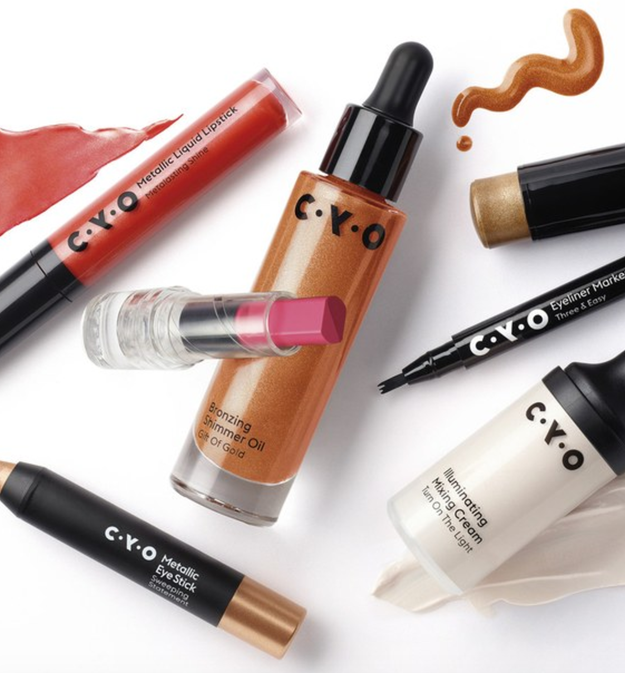 This fall, Walgreens is launching CYO, a new makeup line where everything is $8 or less.