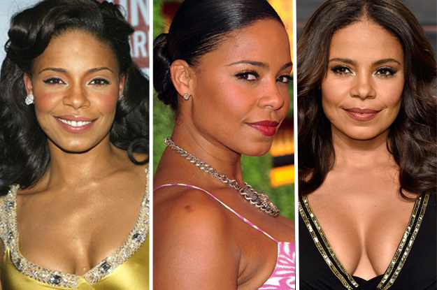 Lathan, 46, who's clearly sippin' from the same fountain as Gabrielle Union and Pharrell, has worn her hair in very timeless and classic styles for most of her career.