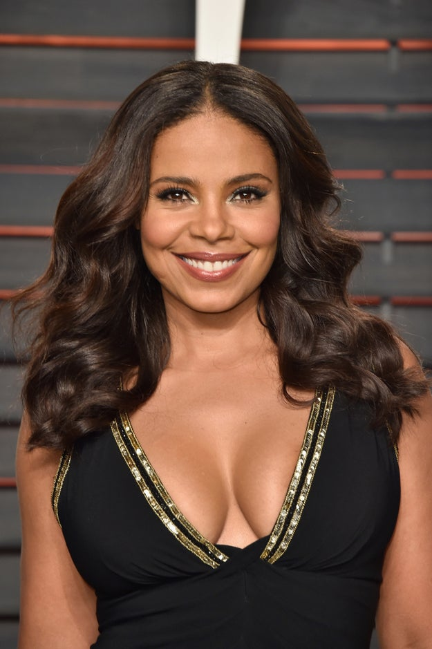 This is Sanaa Lathan. She's been acting since the '90s, and she was one of every black girl's #WCE before #WCE was a thing.