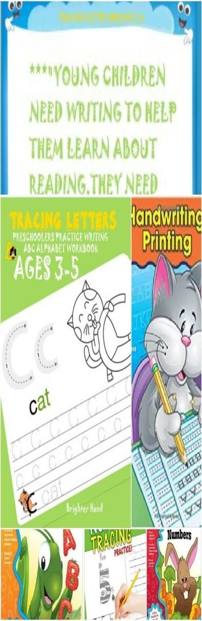 TRACE LETTERS AND NUMBERSKIDS AGES 3 5