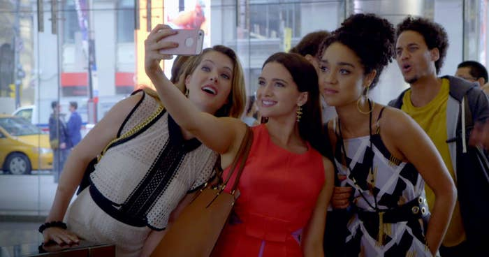 The Bold Type is a shiny show. Viewers get that impression from the series' first promos, which featured three young women dressed in richly colored fancy dresses, screaming in unity on a subway platform. That's the gist, right there: great friends, doing something relatable — who doesn't want to scream sometimes? — while wearing clothes that are definitely out of the price range of many of the people watching. I watch The Bold Type from a very specific vantage point: I'm a woman working in New York City's editorial world — the exact industry they're representing — and I have a tight-knit friend group not unlike the one the show is centered on. In other words, I'm primed to see all the ways the show gets it ~right~, and all the ways it veers off into glitzy fantasy: the strange avoidance of Brooklyn, the fact that Jane seems to report directly to the editor-in-chief...there is an edge of unreality to things. I don't begrudge them this reality gap, though — that's half the fun of TV. The Bold Type isn't trying for the bumbling, angsty realism of, say, Girls' depiction of twentysomethings in the city. They're also not trying for the Gossip Girl tradition of showing us a world that's almost entirely untouchable unless you're born into it. Instead, the show hits a sweet spot somewhere in between — it's recognizable and warm, but oh so shiny. That can be a nice escape, especially with our real-life era marked by so much turmoil. The Bold Type is the TV equivalent of a warm, good-smelling bath. It feels like self-care. And truly, the clothes are amazing. —Alanna Bennett