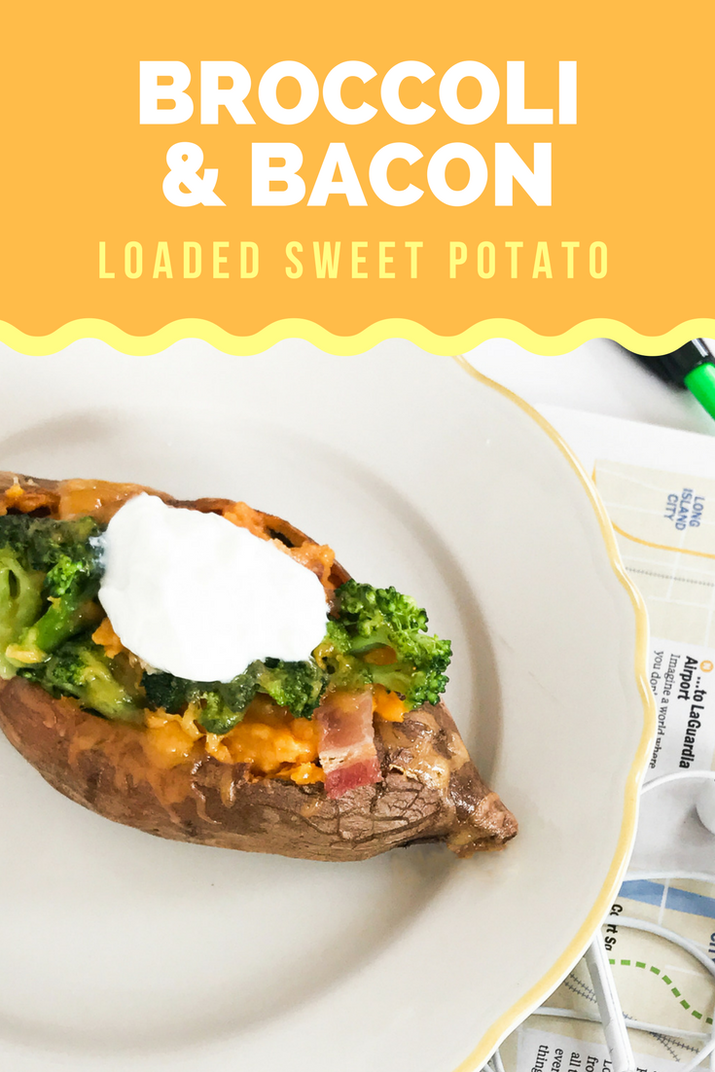Filling, protein-packed, and delicious (sweet potatoes are also loaded with fiber, potassium, and vitamin A.)