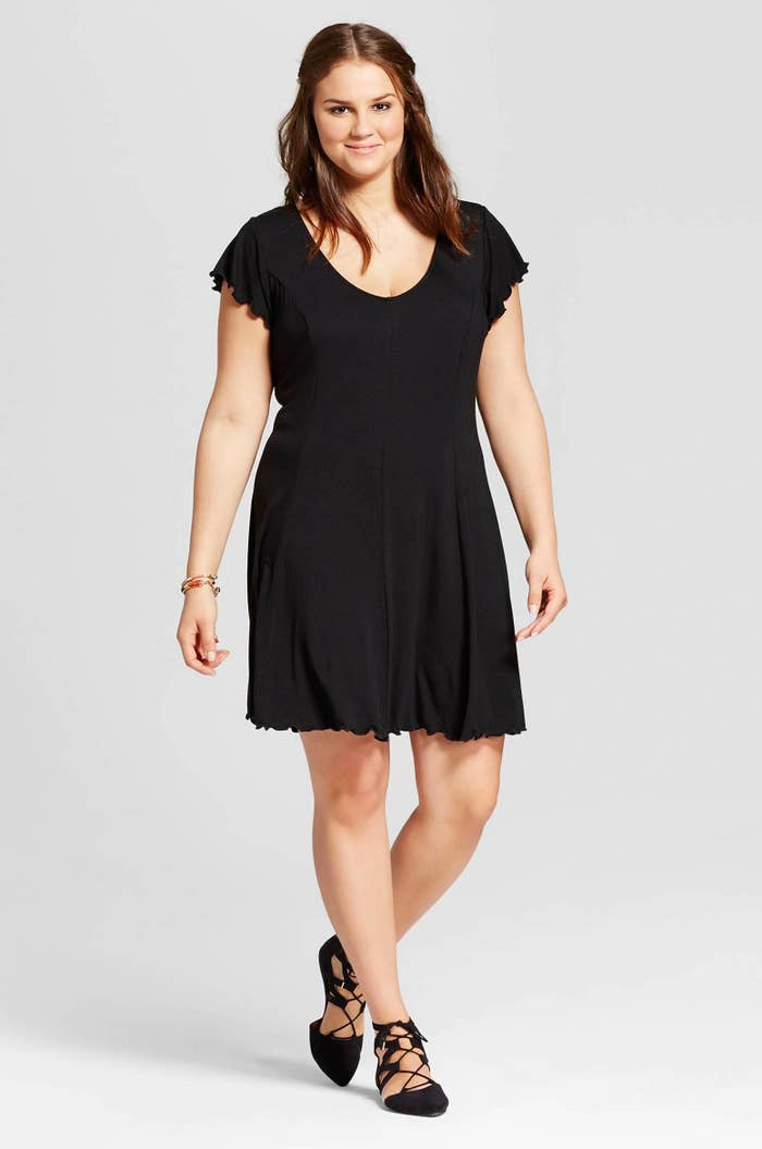 55bbe45f959f A black dress with a seriously huge ego. Everyone just needs to stop  complimenting it.