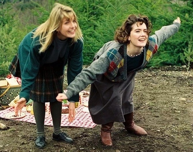 There's an affordable alternative to Sheryl Lee's green jumper at Uniqlo, £24.90, and a cute argyle jumper similar to Lara Flynn Boyle's from Forever 21, £11.20.
