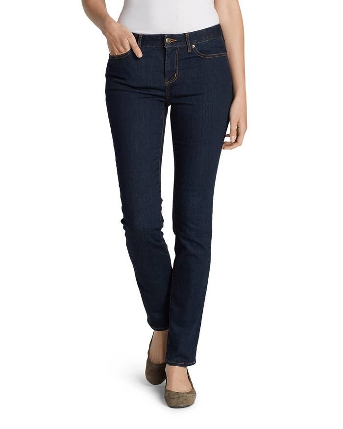 1cfcf7820c1 Eddie Bauer's StayShape jeans do what they say – they stay and shape, two  very important characteristics to look for in denim pants.
