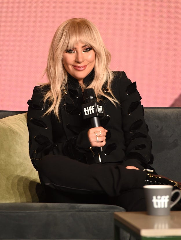 """They also talked about authenticity, and Gaga said she didn't want the documentary to come off as """"a big commercial"""" for her or to paint her as perfect."""