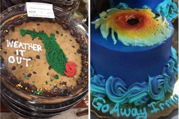People Either Love Or Hate These Hurricane Themed Cakes Publix Has Made For Florida Residents