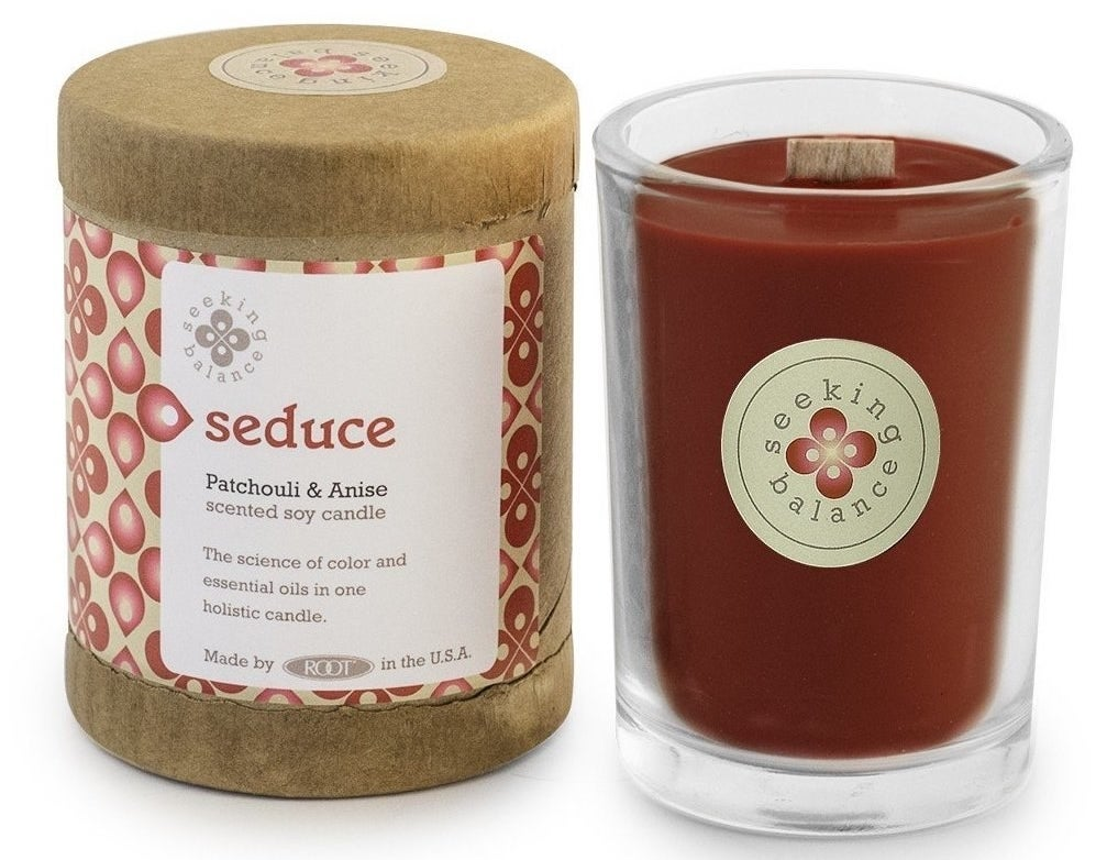 """Promising review: """"I've tried many natural candles and this brand so far is my favorite. I even light them up at work and everyone that comes by my desk loves smelling them. My favorite scent is Seduce!"""" –John SerraGet it from Amazon for $9.37+ (available in multiple sizes, scents)."""