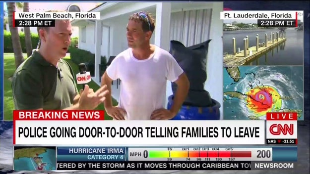 They have reporters on the ground in Florida talking to residents ...