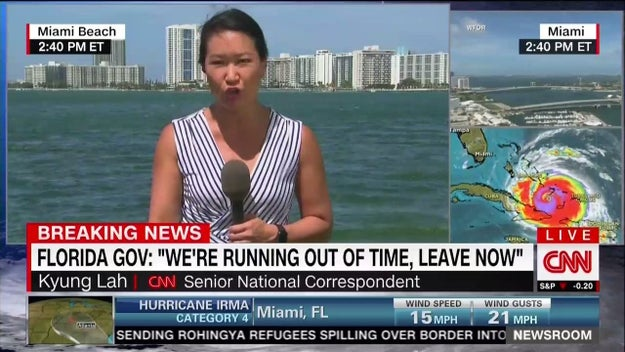 Hurricane Irma is one of the biggest stories on the planet right now, and CNN has a team of reporters covering it.