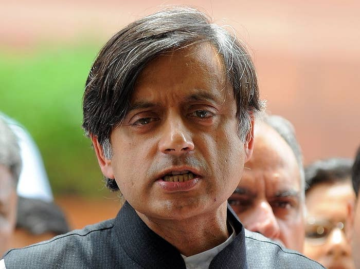.@ShashiTharoor Was Asked Where India Would Be Without The British, And It Brought Out All His Sass