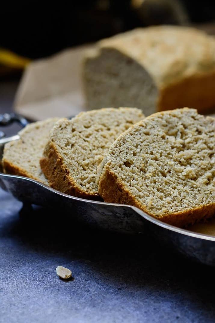 If you think you like banana bread, wait till you try plantain bread. Yum!
