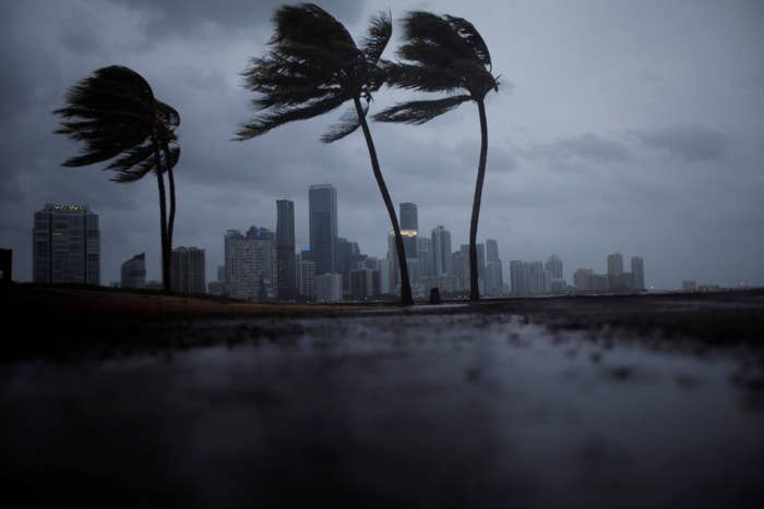 Miami's skyline ahead of Irma
