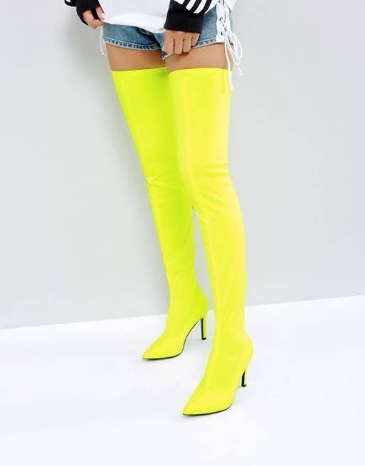 6f5298e73f4 And this neon pair guaranteed to keep you from getting run over at night.  Get them from ASOS ...