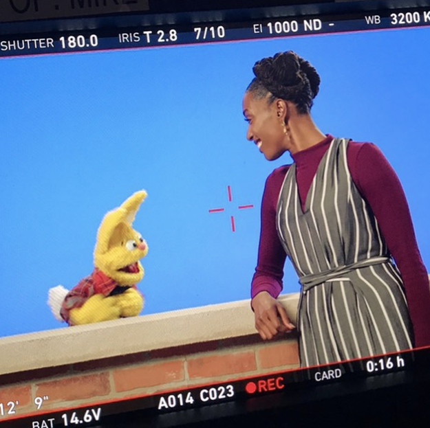 Well Franchesca just finished shooting her very own Comedy Central pilot, which means she's thiiiiis close to becoming the next best thing on TV. Plus, she'd be the first black woman to host and executive produce a sketch comedy series on the network #blackhistoryinthemaking.