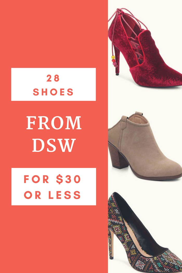 2a1d2054904 28 Pairs Of Shoes You Can Get For  30 Or Less At DSW