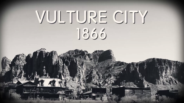 The mine was so lucrative that an accompanying mine settlement called Vulture City was built in 1866 to meet the needs of the many new miners.