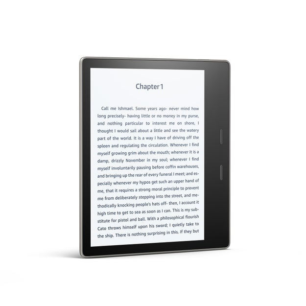 The display is also bigger than other Kindles'.