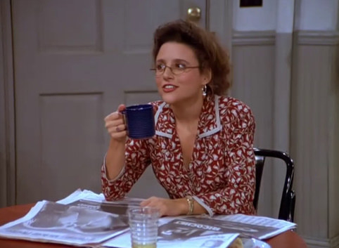 In the first season of Seinfeld...Elaine was 28 years old.