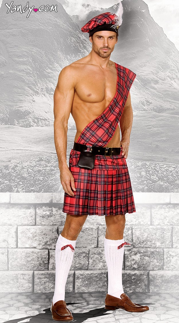 Or you could just wear a kilt?
