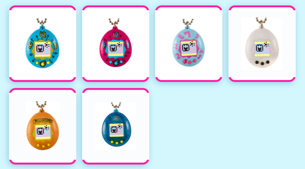 The revamped versions are called Tamagotchi Friends, and they come in six different designs.