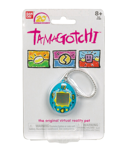 Well, whether you were a lucky kid who got a Tamagotchi or a poor soul who didn't, I have good news: THEY'RE COMING BACK!