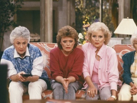 "In the first season of The Golden Girls (a show about ""old"" ladies)... Dorothy, Blanche and Rose were 52, 53 and 55 respectively. Literally younger than most of our parents."