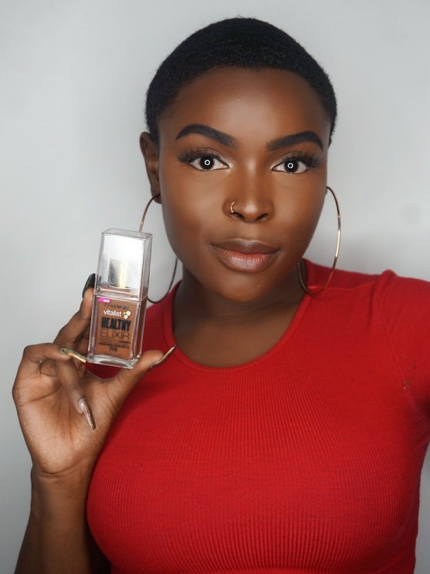 Covergirl Vitalist Healthy Elixir in Soft Sable because it's a good look for your beat AND your skin.