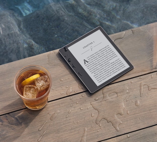 The wait is over — Amazon is finally releasing a water-resistant Kindle Oasis. 💦