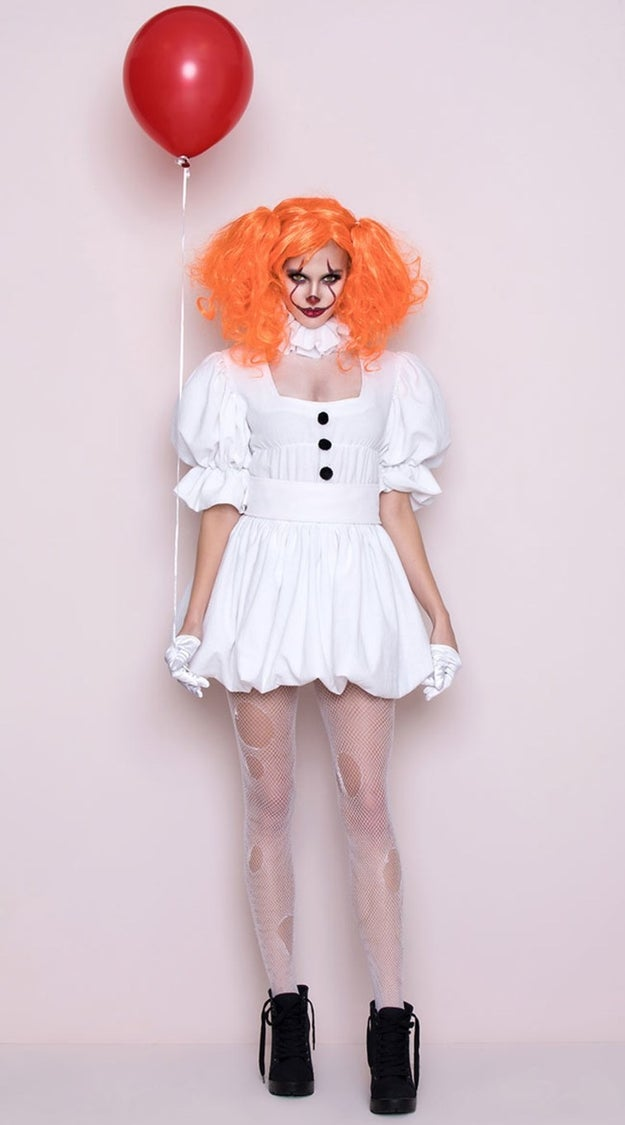 "Well, things are about to become even more sexually confusing, because Yandy has come out with its own ""sexy"" Pennywise costume. Are you ready for this?"