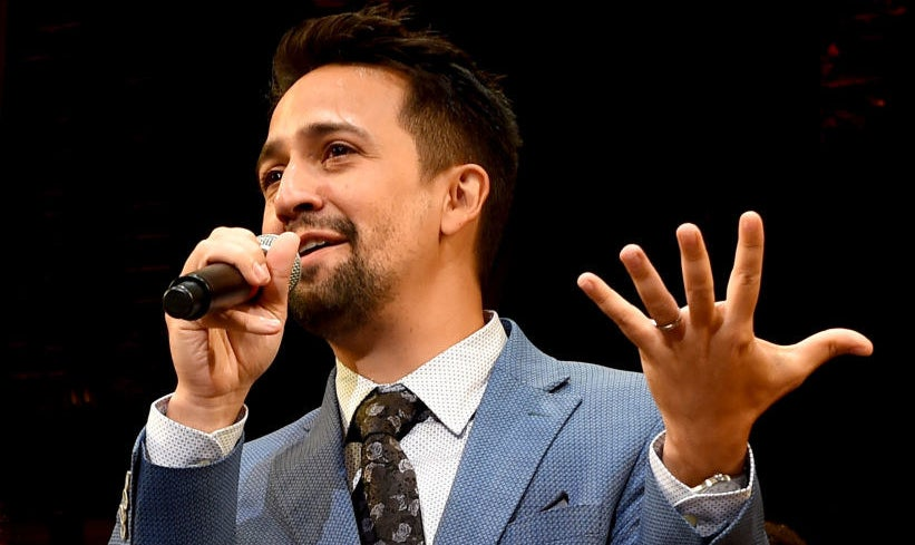So, we all love the Broadway superstar Lin-Manuel Miranda. He created Hamilton, In the Heights, did the soundtrack to Moana, he's won the Pulitzer...yada yada yada...HE'S. JUST. AMAZING.