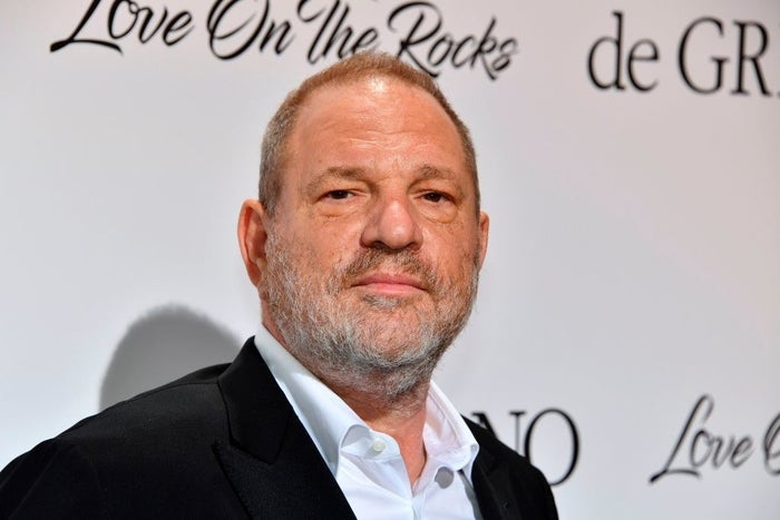 Harvey Weinstein arrives at the De Grisogono Party on the sidelines of the 70th Cannes Film Festival in 2017.