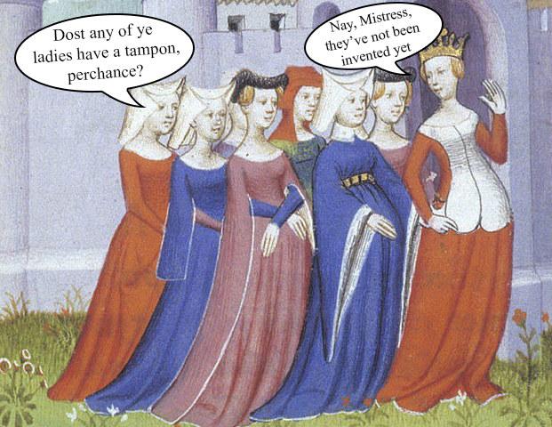 Men menstrual fetish tampon