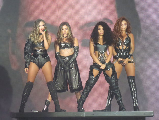 Little Mix, first of their name and all around goddesses of pop, kicked off their Glory Days Tour last night.