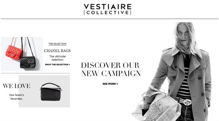 This French website has more than 5 million members worldwide who buy and sell luxury fashion on the website. The most expensive handbag sold at Vestiaire Collective is a $125,000 Hermes Himalayan Birkin handbag. The website adds 20,000 additional items every week and encourages buyers and sellers to interact with each another; which makes the website a mix of e-commerce and social network.
