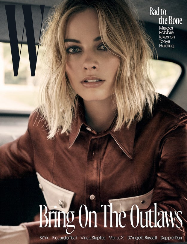 But you probably won't catch the 27-year-old Australian actor posing as her wild character for Halloween. According to a recent interview with W magazine, Margot prefers dressing up as male characters.
