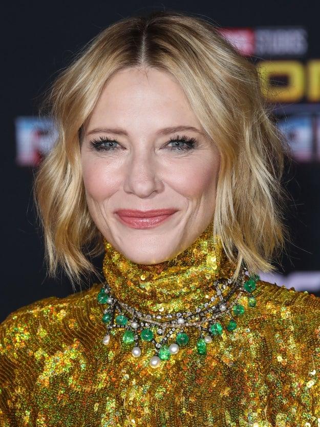 And finally, Cate Blanchett smizing.
