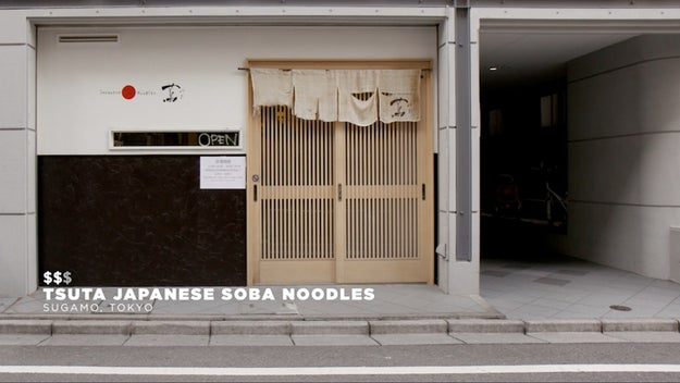 Our second location was Tsuta Japanese Soba Noodles in Sugamo, Tokyo. It was the first ramen shop in Japan to receive a Michelen star.