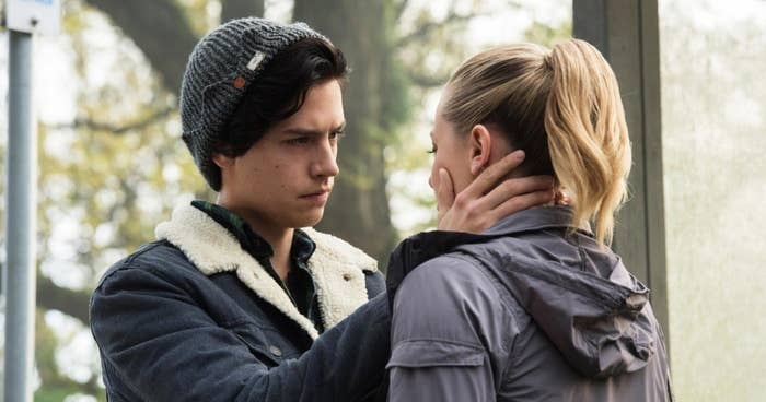 Jughead and Betty on Riverdale.