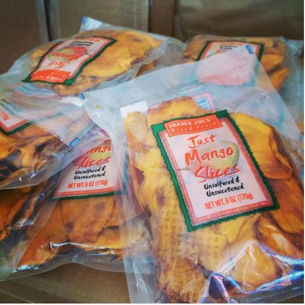These dried mango slices are the best substitute for candy.—rosiemiyut