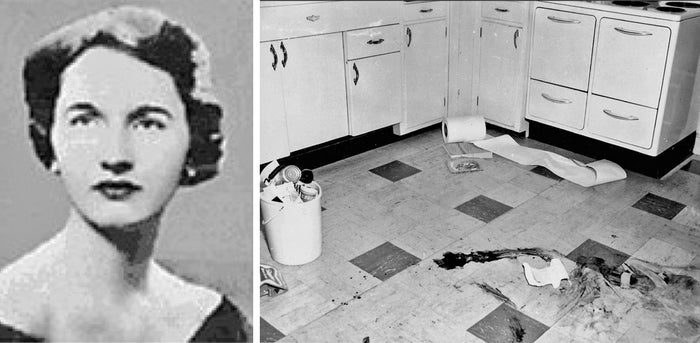 "Risch was 31 when she vanished from her Boston home, leaving nothing but blood on her kitchen floor. Her daughter ran to a neighbor that day, saying, ""Mommy is gone and the kitchen is covered with red paint.'' Weeks prior, Risch had checked out a book from the library about a woman who disappeared and left nothing but blood and a towel.—Anna Kopsky"