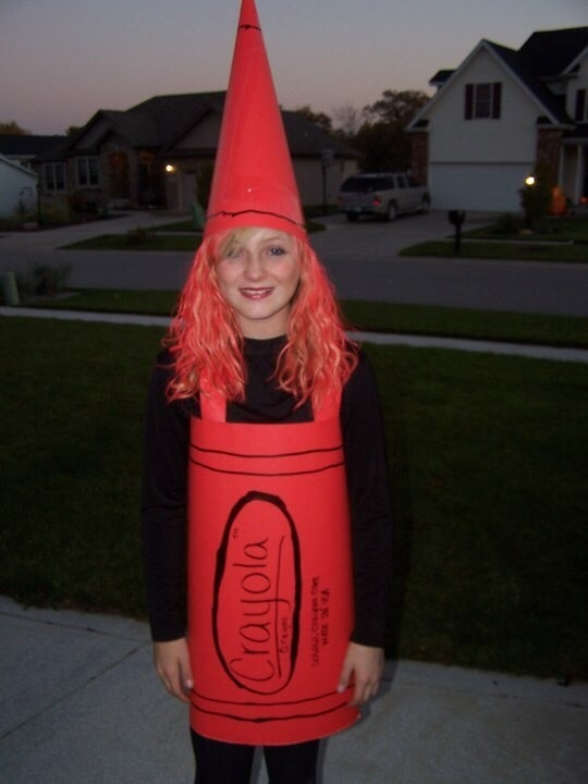 A crayon  sc 1 st  BuzzFeed & 27 Simple But Insanely Clever Halloween Costume Ideas